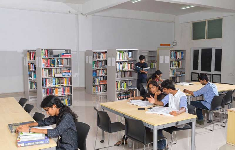 Vagamon Campus - B.Arch Library